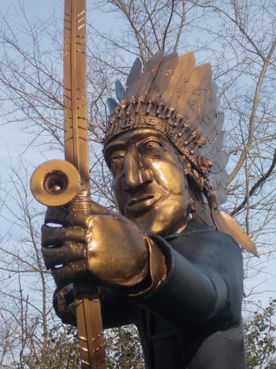 Paul Richardson's statue
